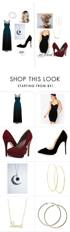 """me vs my friend #9"" by mynameisblrryface ❤ liked on Polyvore featuring Little Mistress, Wolford, Michael Antonio, Lana and Sydney Evan"