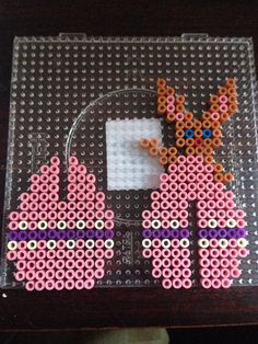 Easter egg hama perler beads by Dorte Marker