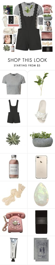"""""""~a little bit of me mixed with some hard liquor"""" by breniixii ❤ liked on Polyvore featuring New Look, OKA, MANGO, Puma, Campania International, French Girl, Margaret Howell, Zara, L:A Bruket and H&M"""