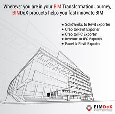 Good Wherever you are in your BIM Transformation Journey BIMDeX products helps you fast innovate BIM