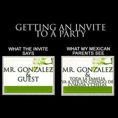 Y enviten al vecino y los primos