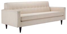 "Bantam Sofa - 86"", Alabaster.Honey - Design Within Reach - modern - sofas - Design Within Reach"