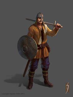 medieval battle units, Siana Dimitrova on ArtStation at https://www.artstation.com/artwork/g8vxQ