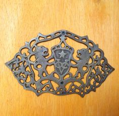 Vintage Solid Brass V.O.C Netherlands Door by ArtsofBrass on Etsy, $18.99