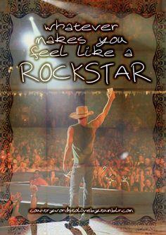 Kenny Chesney  McGraw - Feel Like A Rockstar