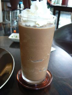 Icy mocha - 84 calories and 1 gram of fat.  This site is filled with recipes under 400 calories.  Love it.