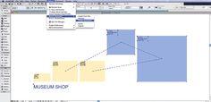 Handige gratis ArchiCAD tool voor in de ontwerpfase. Maak van bijvoorbeeld een Excel tekstbestand, met daarin benamingen en groottes, vervolgens worden die zones automatisch geplaatst. Daarnaast kun je ze onderling ook koppelen. Vervolgens kun je je vlekkenplan maken. Tip: gebruik de speciale verschalingsoptie voor vierkante zones. http://www.mad.fi/mad/englishzonematic.html