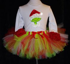 Grinch tutu for grinch party!