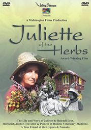 Juliette of the Herbs. Features archive photographs of New Forest and English Gypsies. A must have DVD to embellish the shelf of any serious collector interested in herbal & Gypsy culture!Romany,Gypsy DVDs & CDs. = I loved this DVD!
