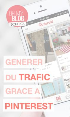"""Ce mois-ci dans Blogschool.fr, retrouvez notre dossier spécial Pinterest ! Au programme : 3 vidéos pour devenir les reines de Pinterest ! Pour voir la vidéo """"Générer du trafic sur son blog grâce à Pinterest"""", rendez-vous sur www.blogschool.fr !"""