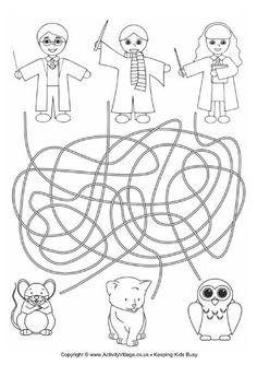 Harry Potter maze 2