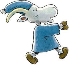 Herra Hakkarainen kävelee unissaan. <3 Mauri Kunnas Cute Characters, Disney Characters, Fictional Characters, Happy Fun, Cute Illustration, Gnomes, Finland, Smurfs, Fairy Tales