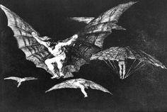 A way of flying - (Francisco De Goya)