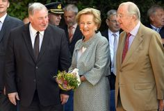 King Albert II and Queen Paola of Belgium 7/18/2013