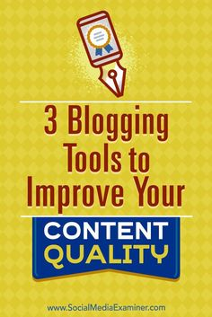3 Blogging Tools to