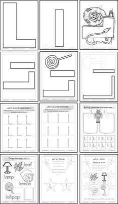letters i j k l on pinterest alphabet activities letter crafts and alphabet crafts. Black Bedroom Furniture Sets. Home Design Ideas