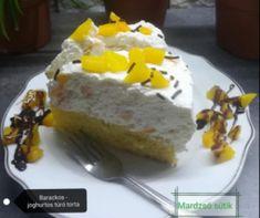 Kókuszkrémes piskótatorta Recept képpel - Mindmegette.hu - Receptek Muffin, Dairy, Pudding, Cheese, Food, Custard Pudding, Essen, Muffins, Puddings