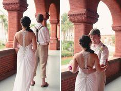 a first look in Key West, photo by www.endearingstudios.com