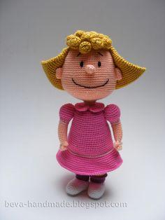 Beva handgemaakte: Peanuts: Lucy en Sally