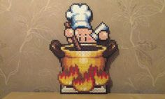 Kirby as chef by RavenTezea
