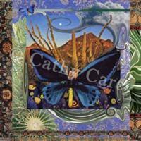 : Buddha Butterfly by Cathy Carey ©2014 www.artstudiosandiego.com