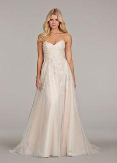 KleinfeldBridal.com: Hayley Paige: Bridal Gown: 32929838: Sheath: Natural Waist