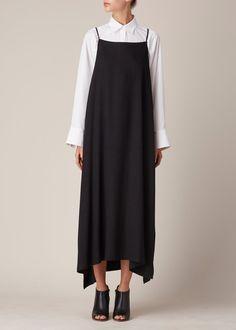 Shaina Mote Apron Dress (Ink)