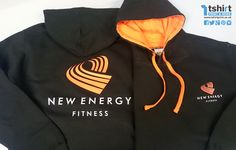 Front and back, 2 tone printing! Energy Fitness, New Energy, Printing, Sweatshirts, Sweaters, T Shirt, Fashion, Supreme T Shirt, Moda