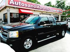 2011 #chevrolet #silverado #1500 #4x4 #truck #4dr #allstar #lt #offroad #z71 #blackbeauty #forsale #autosandmoreinc