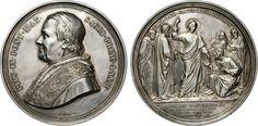 """NumisBids: Numismatica Varesi s.a.s. Auction 65, Lot 855 : PIO IX (1846-1878) Med. A. XXIV, 1869 """"Monumento del Concilio..."""