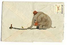 El Elefante Encadenado « Illustration Friday