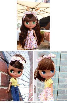 Neo Blythe Pineapple Princess (July 14, 2017) ~ Looking for her new mommies, including me!
