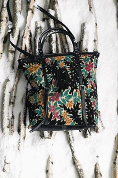 #WinterbloomVelvetTote #Anthropologie #GiveGreat    not really a bag lady but i do like this one