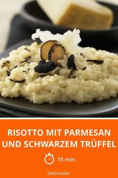 Parmesan Risotto, Gourmet Recipes, Cooking Recipes, Healthy Recipes, Arancini, Slow Food, Eat Smarter, Truffles, Great Recipes