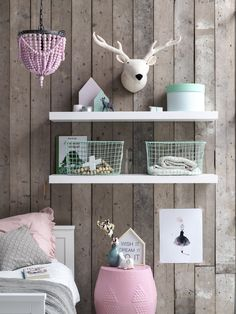 Kidsdepot home and deco product are aviable at Trendy Bedroom, Girls Bedroom, Baby Room Decor, Wall Decor, Deco Pastel, Daughters Room, Room Interior Design, Big Girl Rooms, Kids Decor