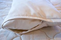 organic Pillowcase - This pillow protector is made from soft and durable certified organic cotton sateen. It has a zippered enclosure. Body Pillow Covers, Couch Covers, Pillow Cases, Large Pillows, Bed Pillows, Pregnancy Pillow, Support Pillows, Pillow Protectors, Cover Photos