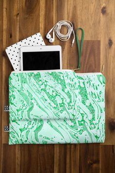Amy Sia Marble Jade Pouch | DENY Designs Home Accessories