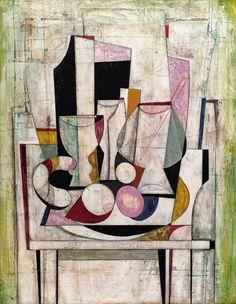 József Guti (Hungary 1946) Still life composition (n.d.)