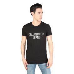 Calvin Klein Jeans CMP32C Men's T-Shirt, Black