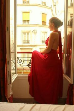 See Through, Painters, Formal Dresses, Red, Fashion, Dresses For Formal, Moda, Formal Gowns, Fashion Styles