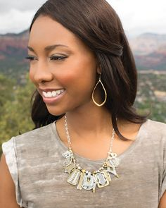 Drop a Hint Earrings | Jewelry by Silpada Designs Get yours at:  www.mysilpada.com/carolyn.petty
