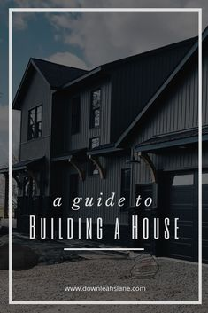 Building a new house can seem like an overwhelming experience. But we guide you through our new house construction process and give you insights to questions and process to help you new home build be an enjoyable experience. New House Construction, Construction Process, Industrial Interior Design, Industrial Living, Modern Industrial, Modern Farmhouse Interiors, Modern Farmhouse Bathroom, Traditional Home Exteriors, Traditional House