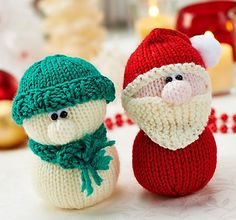 Fuente: http://www.ravelry.com/patterns/library/santa-and-snowman-duo