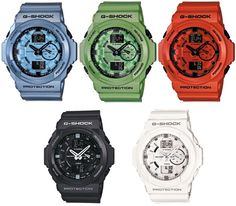 Casio G-Shock GA-150 A, which colour???