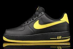 Nike Air Force 1 Low Black/Varsity Maize