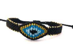 Macrame Bracelet Evil Eye Macrame Bracelet Evil Eye by MACRANI