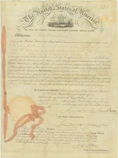 Andrew Jackson Signed Patent for Improving a Cannon  $6,000