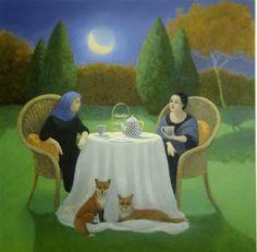 Inmediatamente me conectè con las pinturas de Marcelle Milo Gray , con la atmòsfera que crea en cada uno de sus cuadros y de la que soy tan ...