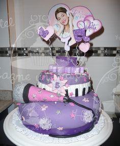 Torta de Violetta!!! Seguinos en facebook para ver más pasteles...