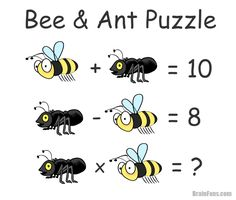 bee-and-ant-brainteaser-puzzles-with-answer-solution-tricky-riddles-and-puzzles Search Items:- Math Puzzles, Bee & Ant Puzzle, Bee & Ant Puzzle with Answer, Math Puzzles with Answer, Puzzles Math Quizzes, Logic Math, Logic Puzzles, Math Games, Maths Day, Fun Math, Math Class, Best Brain Teasers, Tricky Riddles